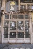Övergiven handel av Laplantagecoffe-stången Royaltyfri Fotografi