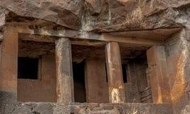 Övergiven historia - forntida Indien Arkivfoton