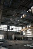övergiven industriell interior Royaltyfri Fotografi
