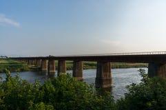 Övergiven järnväg Fotografering för Bildbyråer