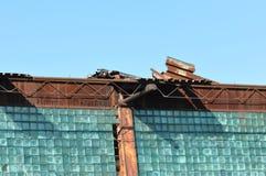 Övergiven kommunistisk industriell fabrik Royaltyfri Foto