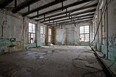 övergiven korridor arkivbilder