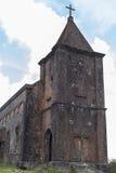 Övergiven kristen kyrka arkivfoto