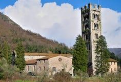 övergiven kyrka Fotografering för Bildbyråer