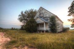 övergiven kyrka Arkivfoto
