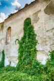 Övergiven kyrka i Banostor från Serbien Arkivfoto