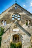 Övergiven kyrka i Banostor från Serbien Royaltyfri Bild