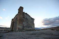 Övergiven kyrka i Oaxaca Royaltyfri Fotografi