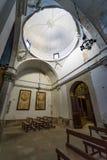Övergiven kyrka någonstans i Spanien Royaltyfria Foton