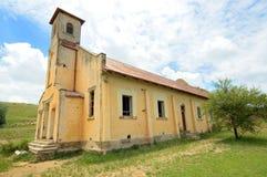 Övergiven kyrklig byggnad Royaltyfria Foton
