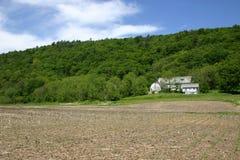 övergiven lantgård Arkivbild