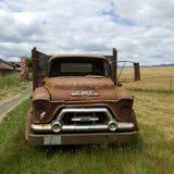 övergiven lastbil arkivfoton