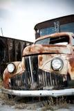 övergiven lastbil Arkivbild