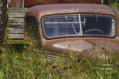 övergiven lastbil Arkivbilder
