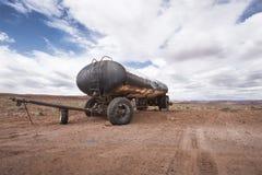 övergiven lastbil Fotografering för Bildbyråer