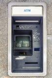 Övergiven maskin för automatisk kassör Royaltyfria Bilder