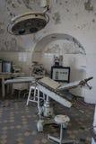 Övergiven medicinsk fjärd för Sovjet fängelse Royaltyfria Bilder