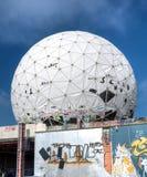 Övergiven NSA-byggnad royaltyfri bild