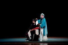 Övergiven opera för son:Jiangxi Arkivfoto