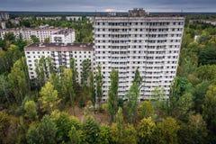 Övergiven Pripyat stad Royaltyfria Foton