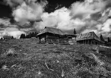Övergiven sheepfold Fotografering för Bildbyråer
