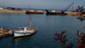 övergiven ship Royaltyfri Fotografi