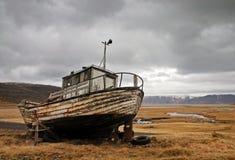övergiven ship Royaltyfri Foto