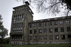 Övergiven sjö- högskola i Wustrow Royaltyfri Foto