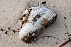 Övergiven sko royaltyfri bild