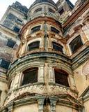 Övergiven slott Indien Arkivbild