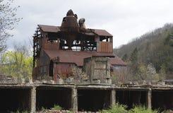 övergiven störst sawmill för banddouble royaltyfri foto