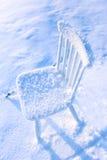 Övergiven stol Royaltyfri Foto
