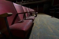 Övergiven teater Arkivbild