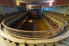 Övergiven teater Royaltyfri Foto