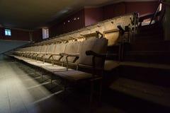 Övergiven teater Arkivbilder