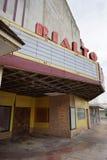 Övergiven teateringång Texas Royaltyfri Foto