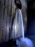 Övergiven underjordisk flod fotografering för bildbyråer