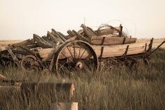 Övergiven vagn Royaltyfri Foto