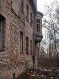 övergiven villa Royaltyfri Bild