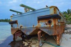 övergivet fartyg Royaltyfri Foto