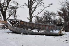 övergivet fartyg Fotografering för Bildbyråer