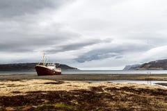 övergivet fartygfiske Royaltyfri Fotografi