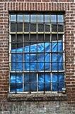 övergivet gör bar fönster Arkivbilder