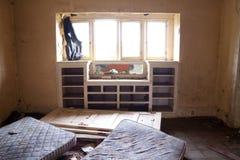 övergivet hus Royaltyfri Fotografi