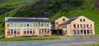 övergivet hus Royaltyfri Bild
