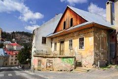 övergivet hus Arkivbilder