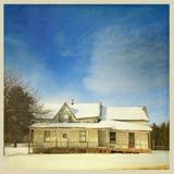 övergivet hus Royaltyfri Foto