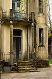 övergivet hus royaltyfria bilder