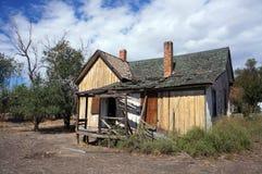 Övergivet hus, Utah Royaltyfri Foto