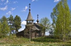 övergivet kapell Arkivbilder